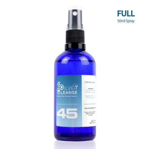 SilverCleanse™ 45ppm colloidal silver 50ml Colloidal Silver Spray (45ppm)