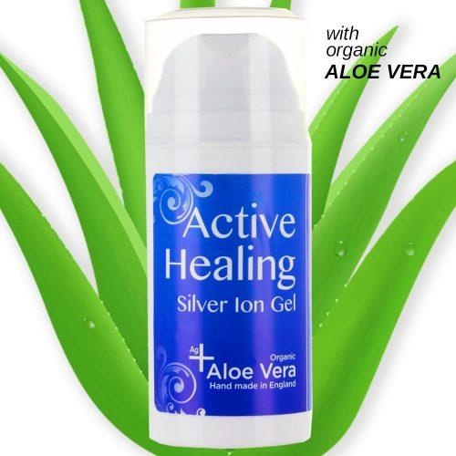 SilverCleanse Silver Ion Gel (Colloidal Silver Gel) with Soothing Aloe Vera Colloidal Silver Gel
